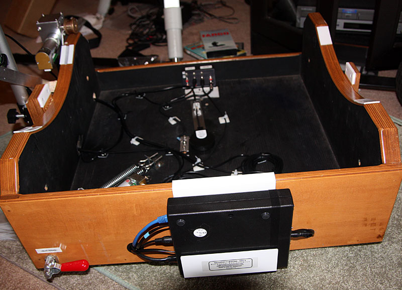 This Shows The Cables To The Servocat Control Box On The