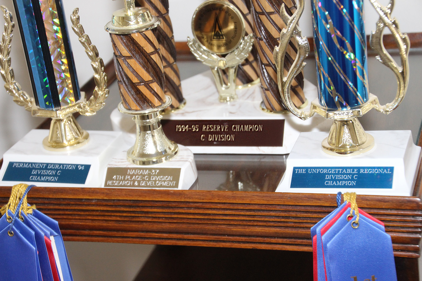 Model Rocket Competition Awards From The National